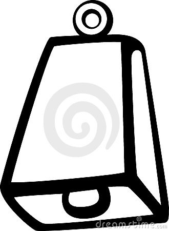 Cowbell Clipart-Cowbell Clipart-6