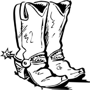 Cowboy boot boot silhouette clip art at vector clip art image 2