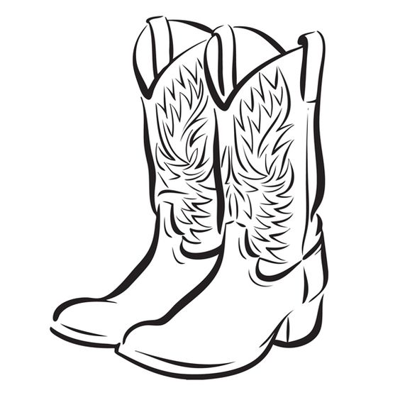 Cowboy Boot Clip Art Free | 32 images of cowboy boots free cliparts that you can