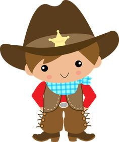Cowboy clipart free clipart .