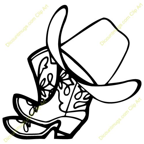 cowboy clipart u0026middot; cowboy hat clipart