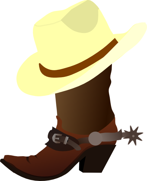 Cowboy cute western clipart free clipart images clipartbold