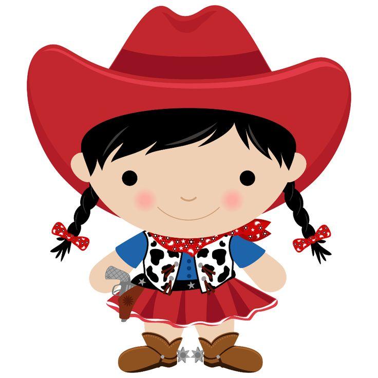 Royalty-Free (RF) Cowgirl Cli