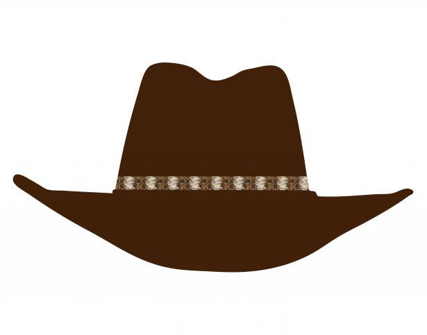 Cowboy hat clipart 5