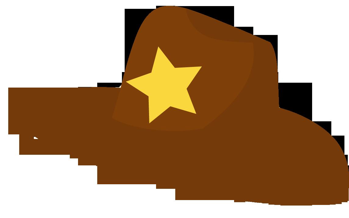Cowboy hat clipart 7