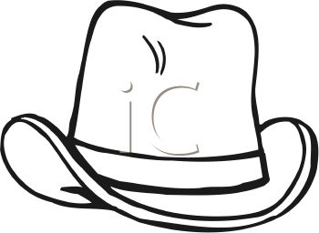 Cowboy Hat Clipart Black And White Clipa-Cowboy Hat Clipart Black And White Clipart Panda Free Clipart-6