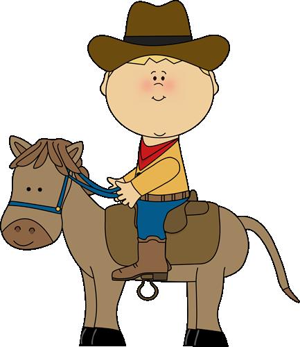 Cowboy Riding A Horse-Cowboy Riding a Horse-13