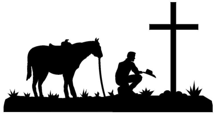 Cowboy Silhouette Clip Art-Cowboy Silhouette Clip Art-16