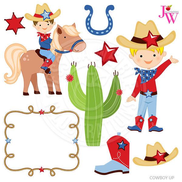 Cowboy Up Cute Digital Clipart, Cowboy Clip art, Cowboy Graphics, Instant  Download, Western Clipart, Cowboy Western Clip art, Cowboy Clipart