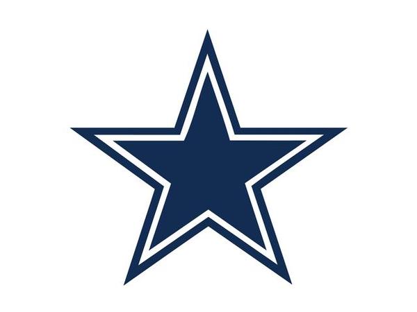 Cowboys Wallpaper image - vector clip art online, royalty free .