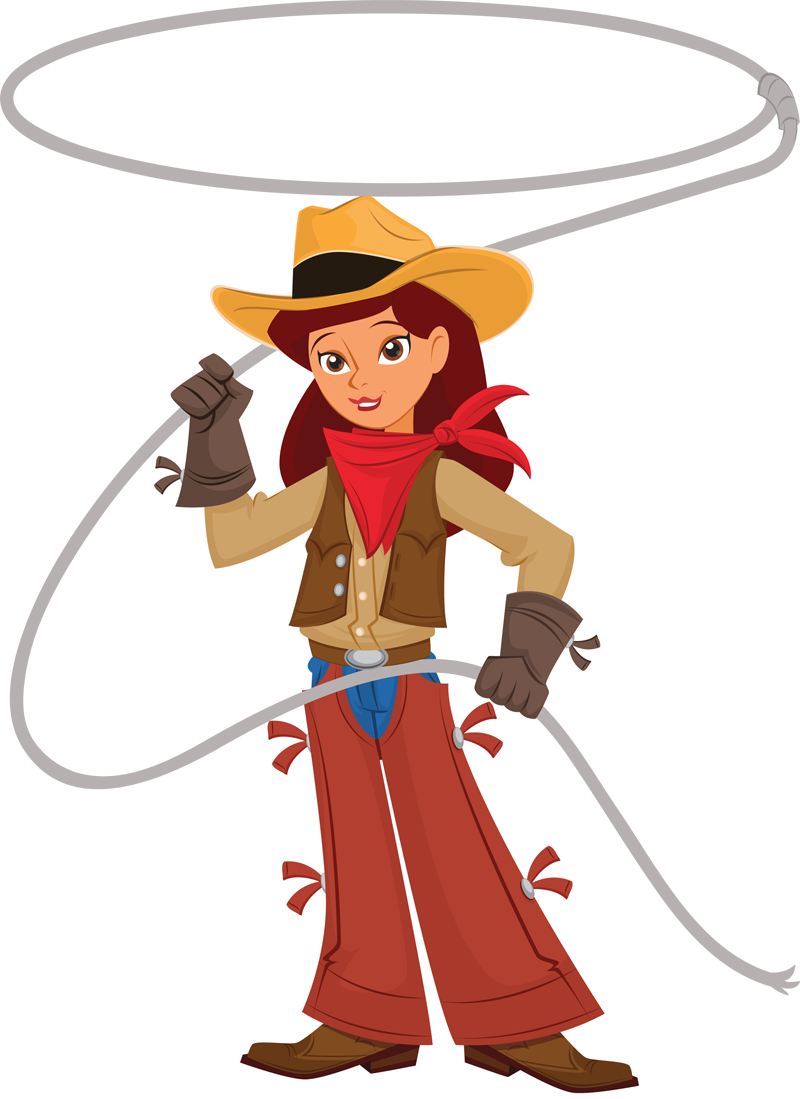 Cowgirl Clipart-Cowgirl Clipart-12