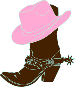 Cowgirl Hat And Boot Clip Art-Cowgirl Hat And Boot Clip Art-11