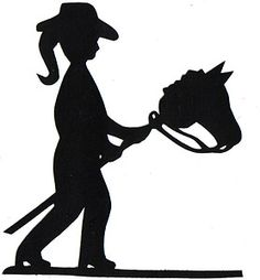 Cowgirl Silhouette Free .