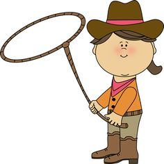 Cowgirl with a Lasso clip art image. A free Cowgirl with a Lasso clip art image for teachers, classroom lessons, scrapbooking, print projects, blogs, ...