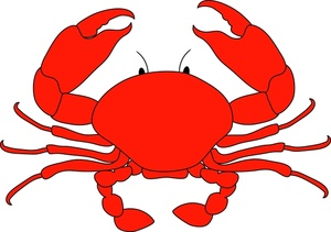 Crab clip art cartoon free clipart image-Crab clip art cartoon free clipart images 2-2