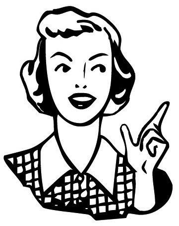 Craftster Photo Hosting Fifties Woman Po-Craftster Photo Hosting Fifties Woman Pointing Powered By-14