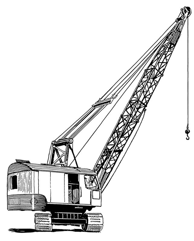 Crane 2 Http Www Wpclipart Com Working Vehicles Crane Crane 2 Png