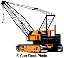 ... Crane - Illustration on construction equipments Crane Clip Artby ...