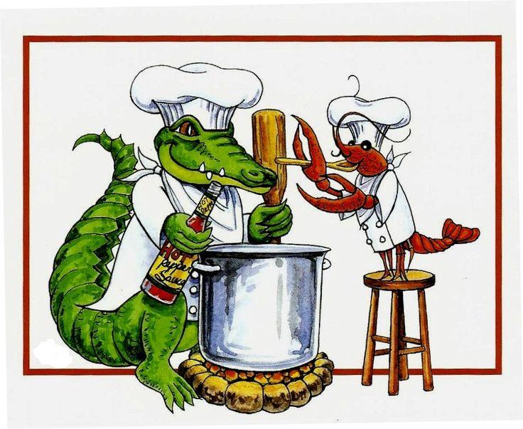 Crawfish Boil u0026middot; Cajun FrenchNew Orleans ArtCajun FoodFood ClipartLouisiana ...