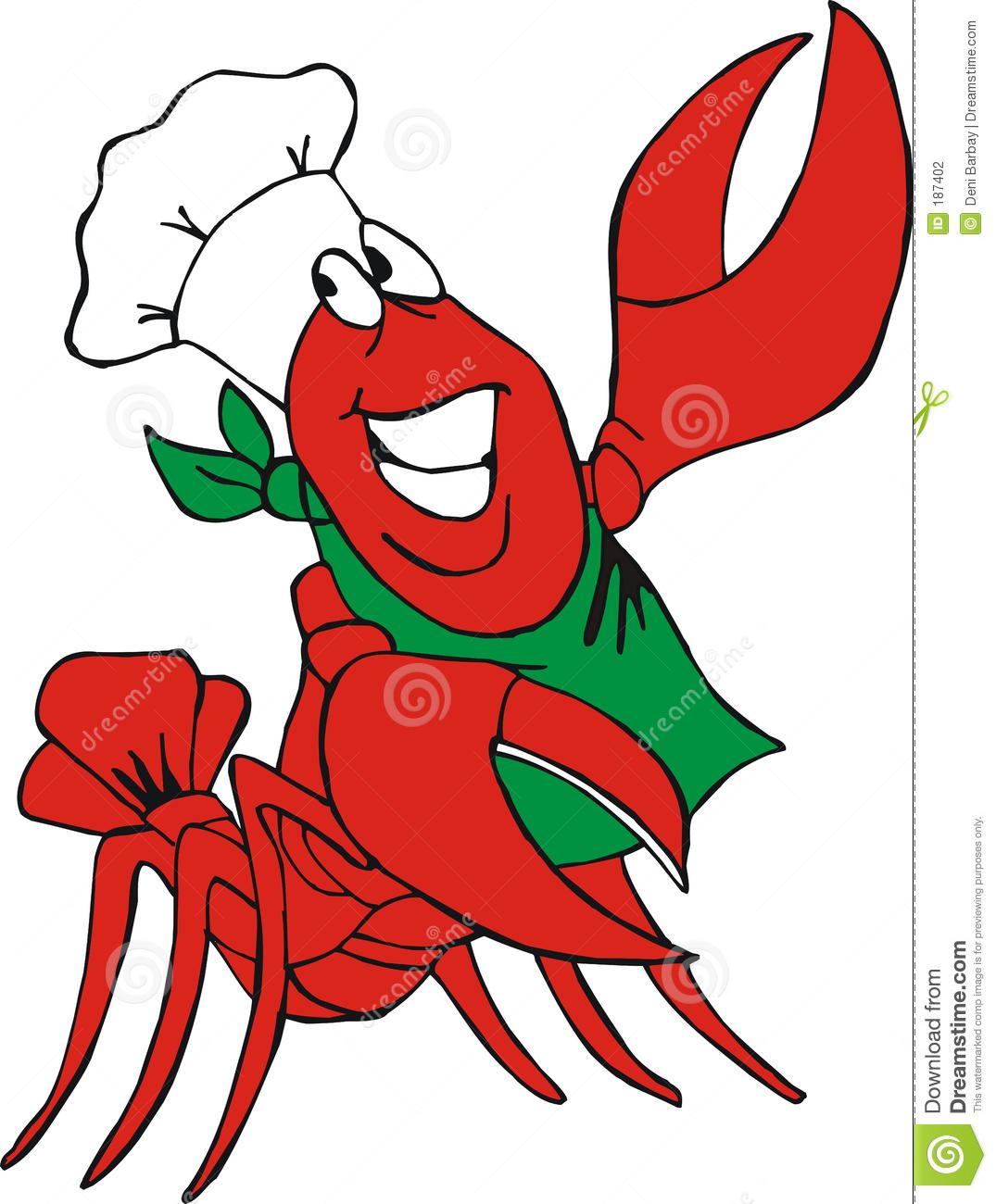 Crawfish Clip Art Free - .