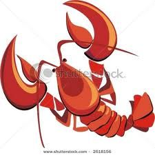 crawfish clipart - make into .