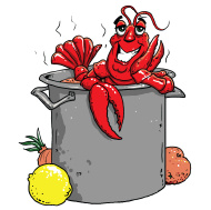 crawfish clipart. Resolution 190x189 .