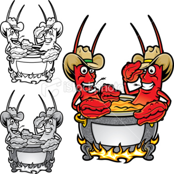 Crawfish Flyer Free Images At Clker Com Vector Clip Art Online