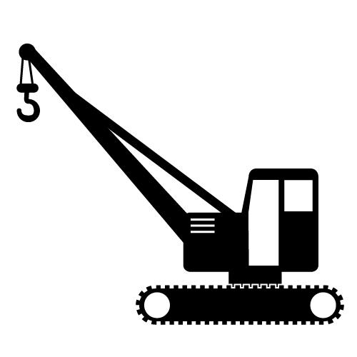 Crawler Crane Clip Art Crawler Crane Free Image