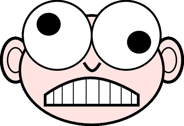 Crazy Nerd clip art - vector  - Crazy Person Clip Art