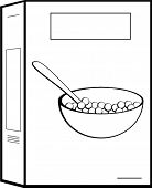 Create a lightbox - Cereal Box Clipart
