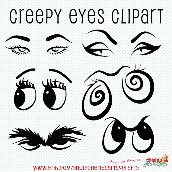 Creepy Clipart-Clipartlook.com-570