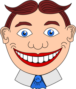 Creepy Clipart creepy man