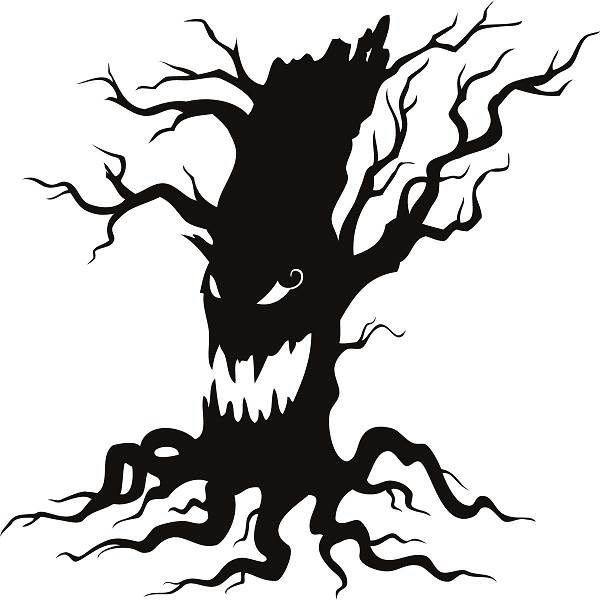 . ClipartLook.com Creepy tree clipart ClipartLook.com