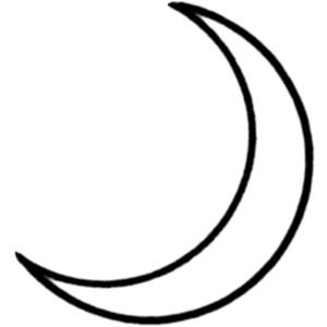 Crescent Clipart Clipart Panda ... Moon -Crescent Clipart Clipart Panda ... moon clipart black and% .-5