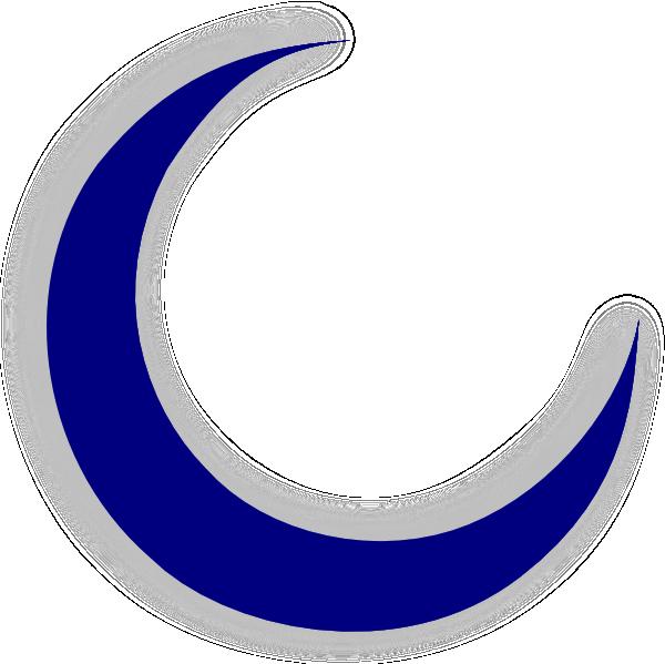 Crescent Moon Clip Art At Clker Com Vect-Crescent Moon Clip Art At Clker Com Vector Clip Art Online Royalty-15