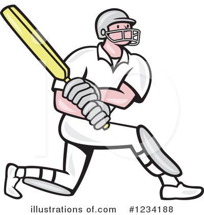 Cricket Player Clipart .-Cricket Player Clipart .-15