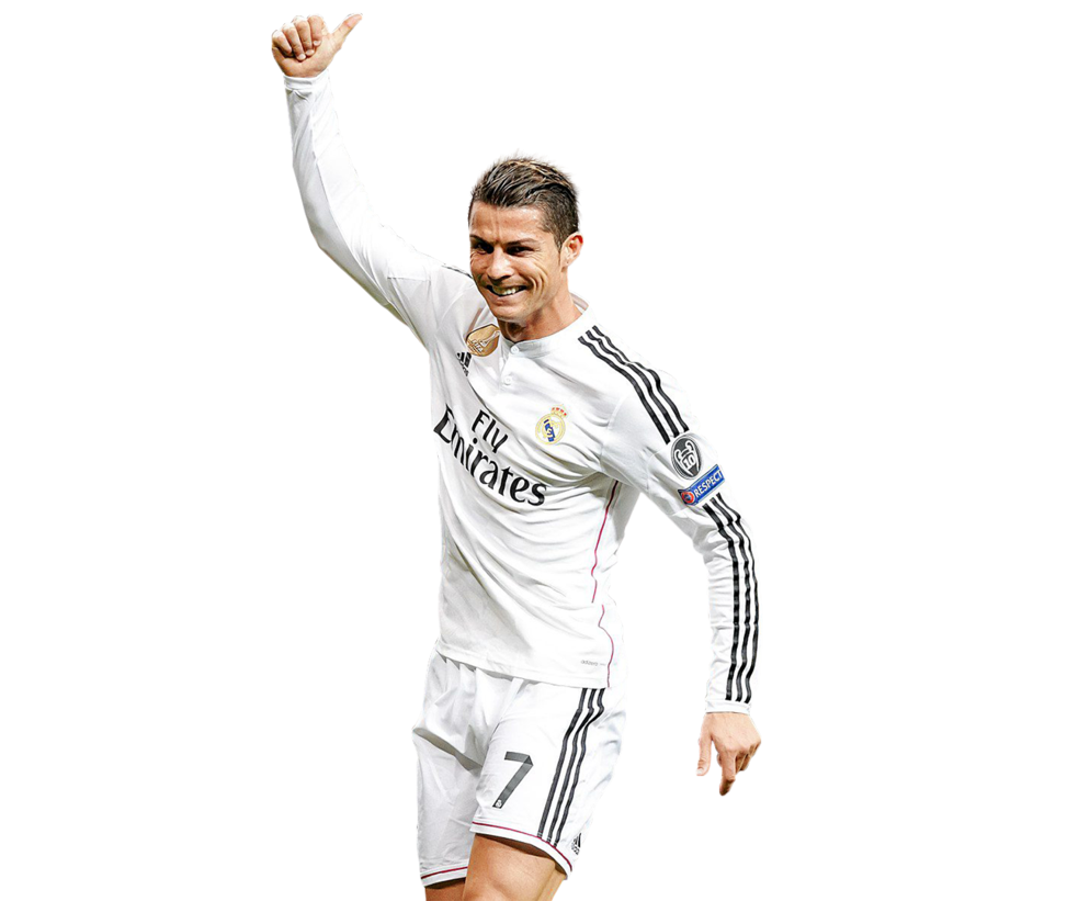 Cristiano Ronaldo Clipart-Clipartlook.com-973