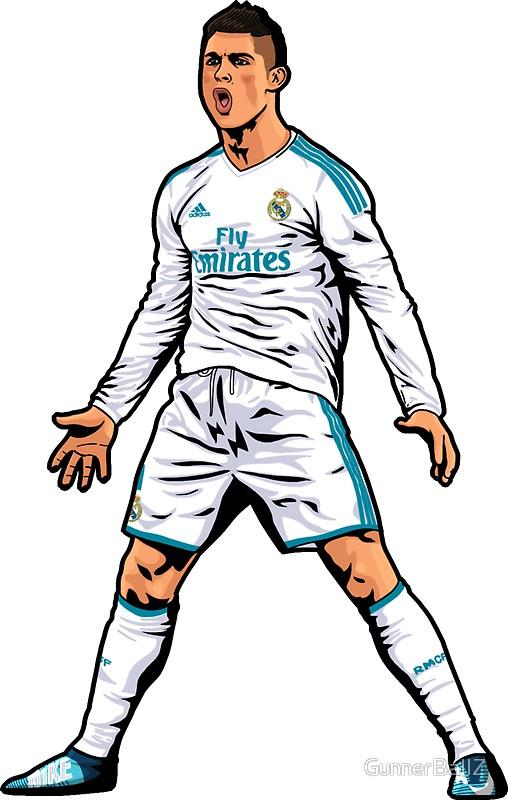 Cristiano Ronaldo by GunnerBallZ