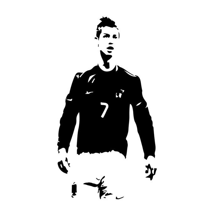 Cristiano Ronaldo Player Graphics Design-Cristiano Ronaldo player graphics design SVG DXF EPS Png Cdr Ai Pdf Vector  Art-14