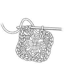 Crocheting a Granny Square - Martha Stewart Crafting