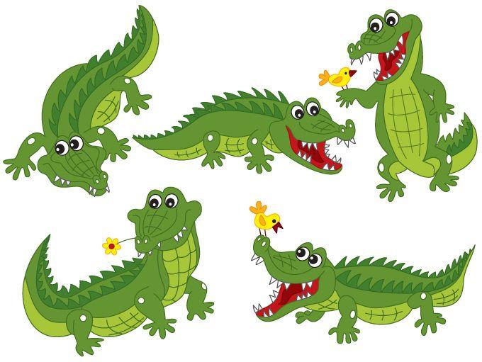 70% OFF SALE Crocodile Clipart - Digital-70% OFF SALE Crocodile Clipart - Digital Vector Crocodile, Africa, Safari,  Alligator-0