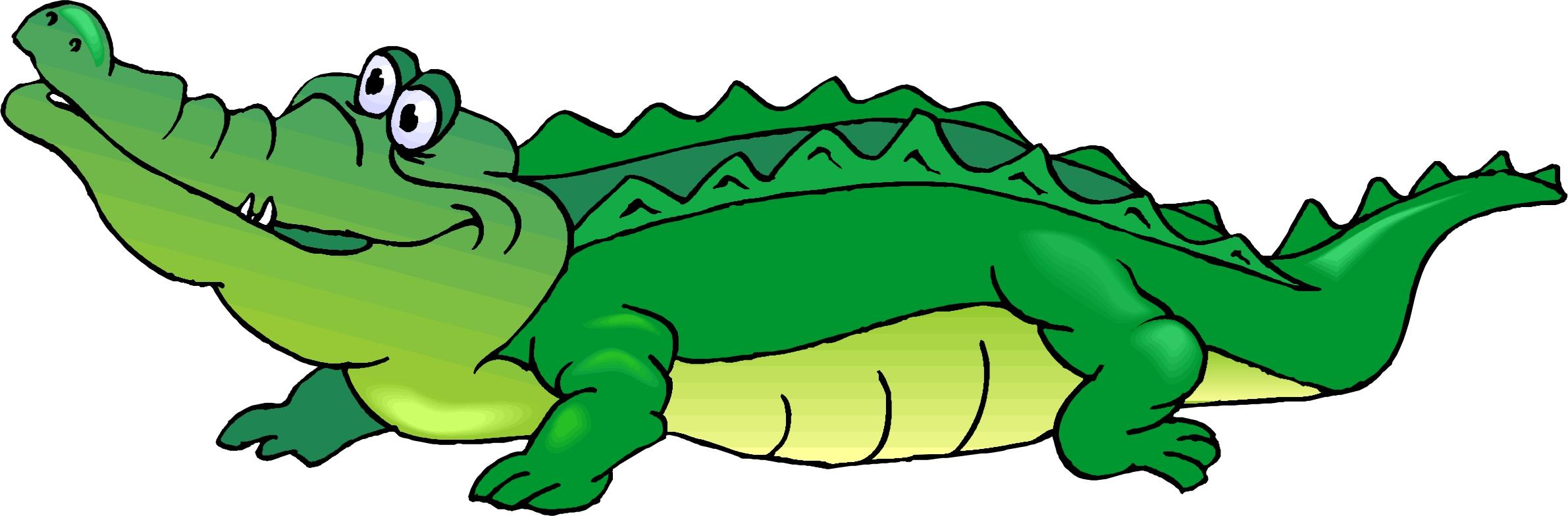 Cartoon Crocodile Clipart #1-Cartoon Crocodile Clipart #1-3