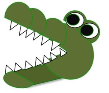 Crocodile Clipart-Crocodile Clipart-7