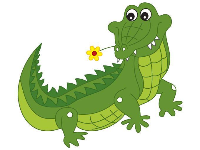 Crocodile Clipart - Digital Vector Croco-Crocodile Clipart - Digital Vector Crocodile, Animal, African, Safari, Crocodile  Clip Art for Personal and Commercial Use #thecreativemill-9