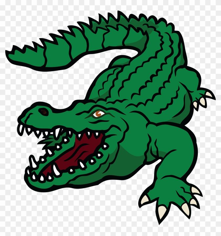 Free Clipart Of A Crocodile - Crocodile -Free Clipart Of A Crocodile - Crocodile Clipart-12