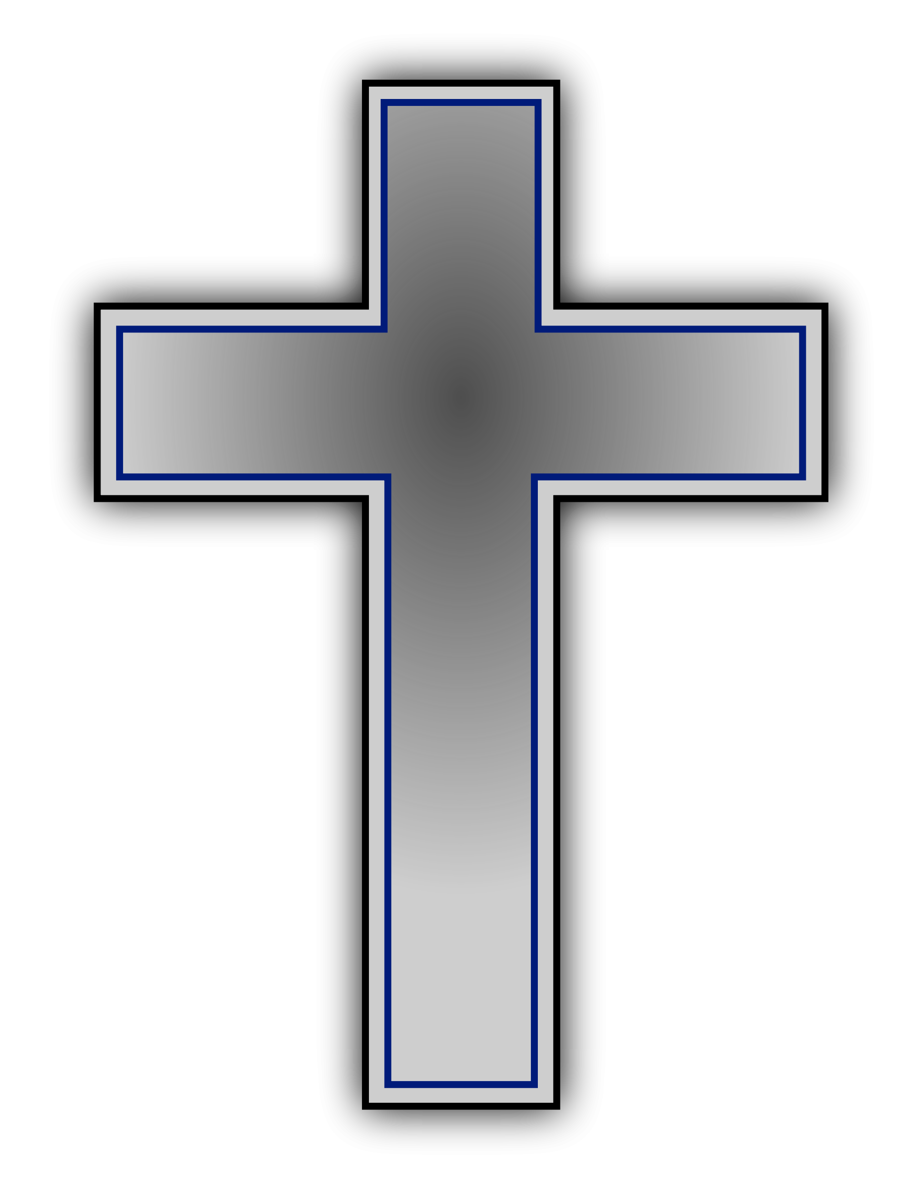 Cross Clipart Black And White-cross clipart black and white-8