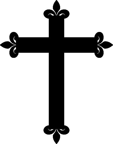 Cross Clipart Black And% .-cross clipart black and% .-14