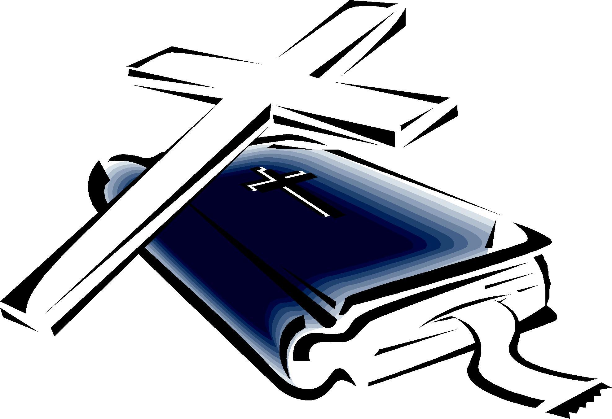 Cross And Bible Clipart-Cross and bible clipart-14