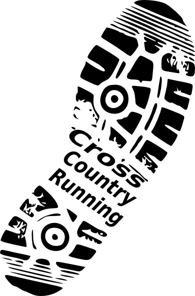 Cross Country Running Clip Art | Cross Country Running clip art - vector clip art online