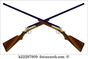 Crossed Chotguns